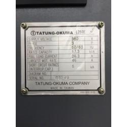 OKUMA GENOS L 250-E CNC Horizontal Lathe