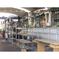SIEMENS HHARDNENING AND TEMPERING LINE FOR STEEL STRIP