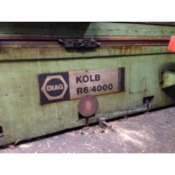 Kolb R6/4000 Cylindrical Grinding Machine