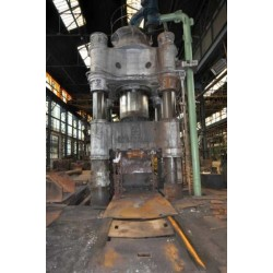 Schloemann 2500 Ton Hydraulic Free Forging Press With Manipulator